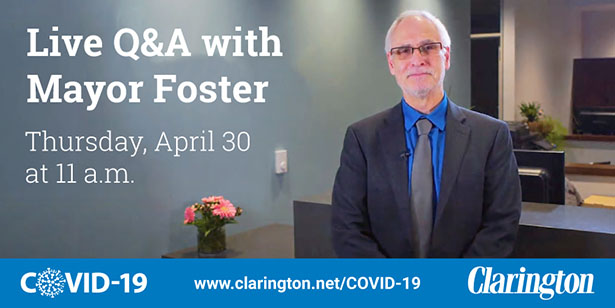 Mayor Adrian Foster Hosts Live Q&A