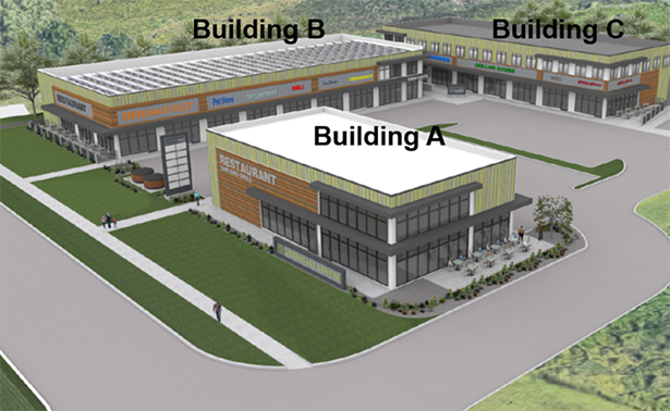 Proposed Commercial Development at 2411 and 2415 Baseline Road