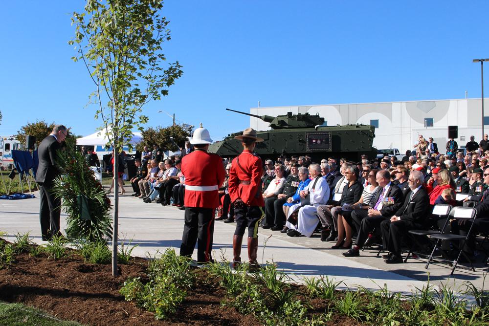 LAV unveiling ceremony