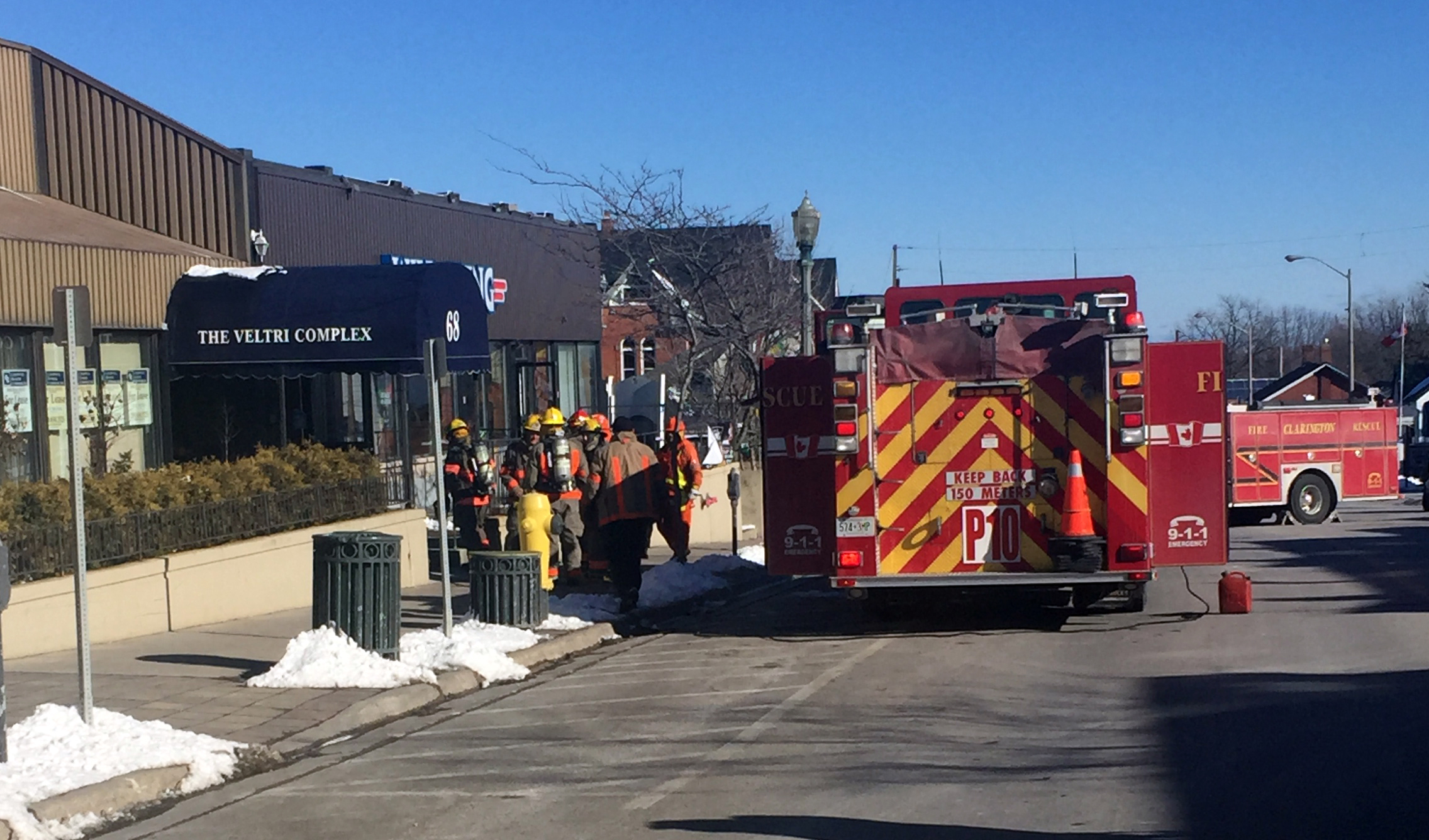 CEFS respond to explosion and fire