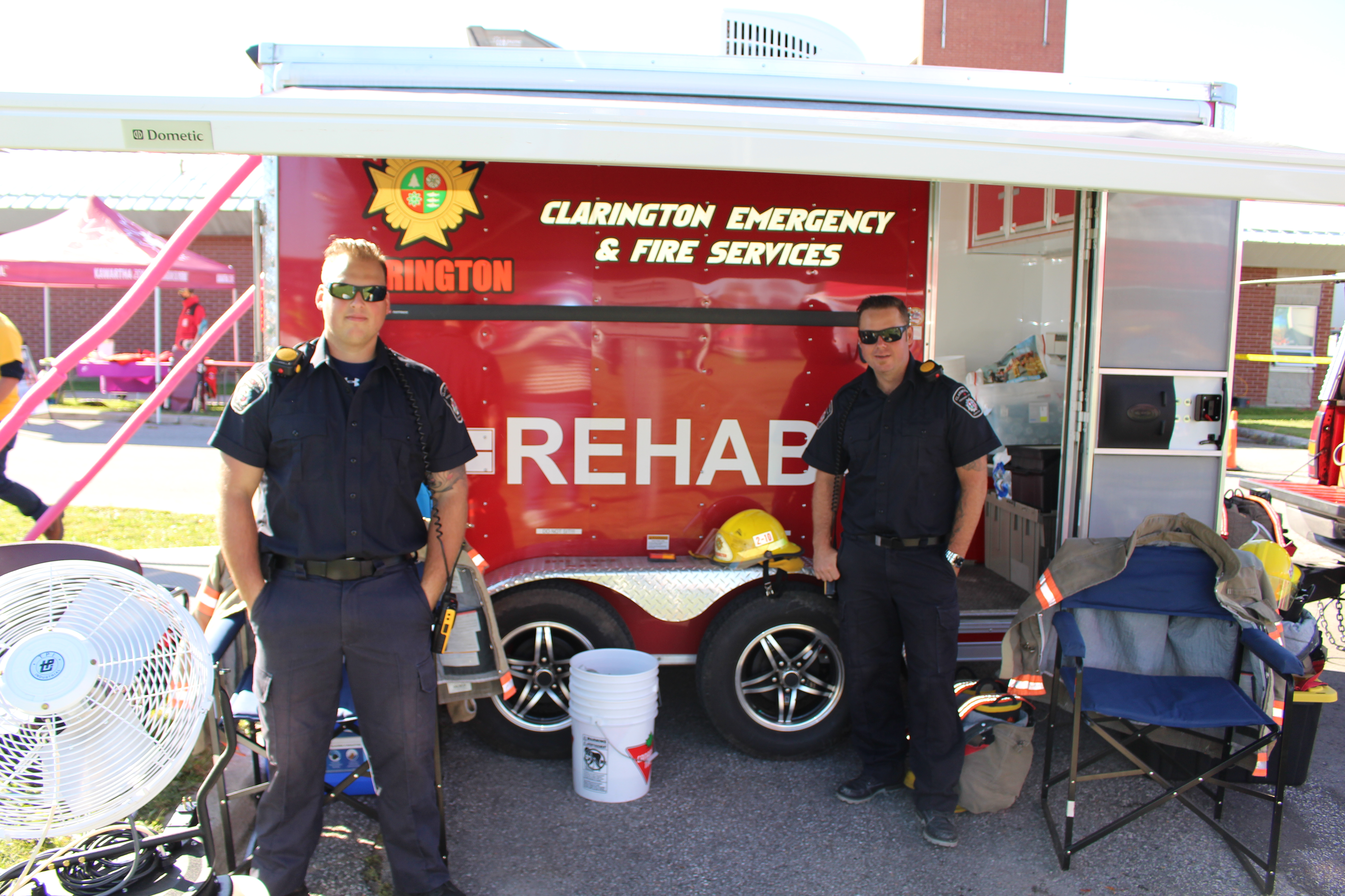 Clarington Emergency and Fire Services' Mobile Cooling Centre