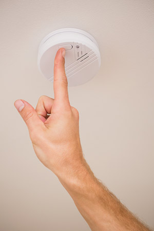 Test your smoke alarm
