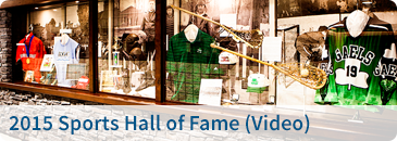2015 Sports Hall of Fame (Video)