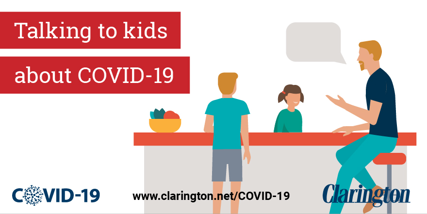 Talking to kids about COVID-19