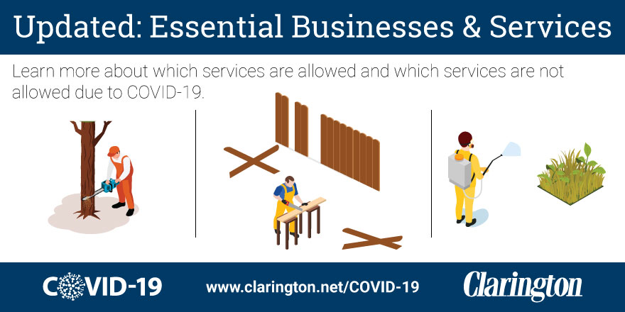 Essential Businesses and Services